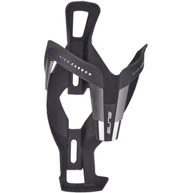 Elite Vico Flaskeholder Carbon, black matte/white